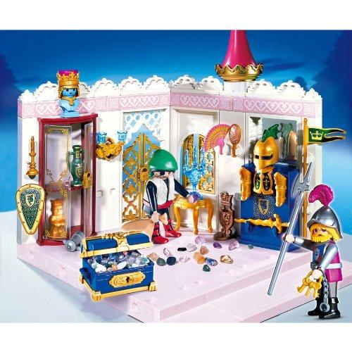 プレイモービル おとぎの国のお城 王宮の宝 4255
