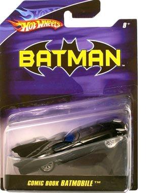 HotWheels / 1/50 BATMAN バットマン コミックブック バットモービル(アメリカのコミックブックに