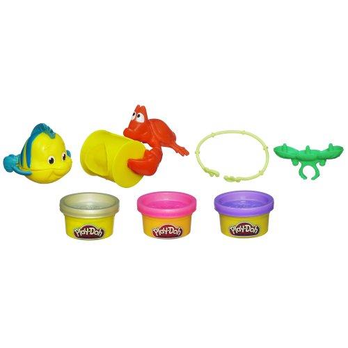 ディズニープリンセス Play-Doh(プレイドー) アリエルのアクセサリーキット7385【おもちゃ 粘土 小麦