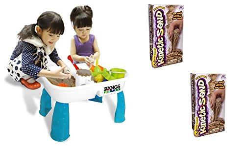 ラングスジャパン (RANGS) キネティックサンドテーブル & キネティックサンド 2LB [2個] - 2点3個セット