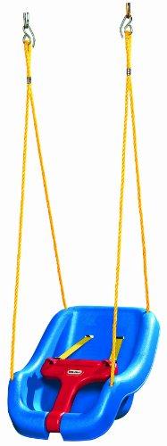 LITTLETIKES リトルタイクス 2-in-1 スナッグン セキュアー スウィング ブランコ (ブルー) 【00937】