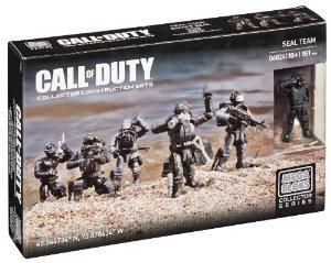 Mega Bloks (メガブロック) Call of Duty Seal Team ブロック おもちゃ