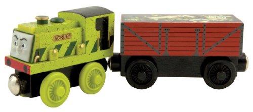 ラーニングカーブ 木製きかんしゃトーマスレールシリーズ 木製きかんしゃ「スクラフとゴミ貨車」