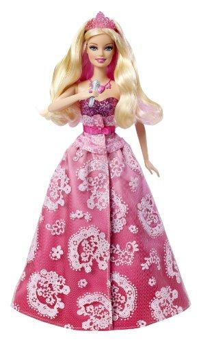 バービーBarbie The Princess and The Popstar Transforming Tori Doll X3689