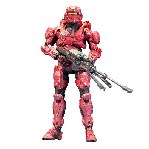 マクファーレン HALO 4 シリーズ1/Spartan Warrior (Red) ヘイロー4/mcfarlane