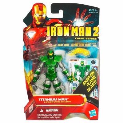 アイアンマン2/3.75インチ アクションフィギュア/031 コミックシリーズ/チタニウムマン