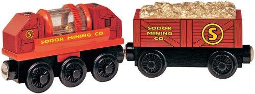ラーニングカーブ きかんしゃトーマス木製レールシリーズ 木製金鉱用貨車
