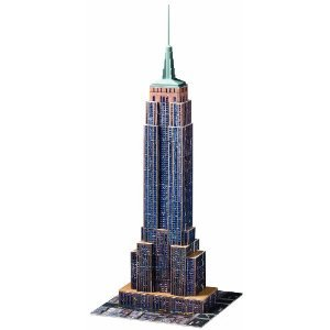 Ravensburger Empire State Building 216 ピース 3D Building セット