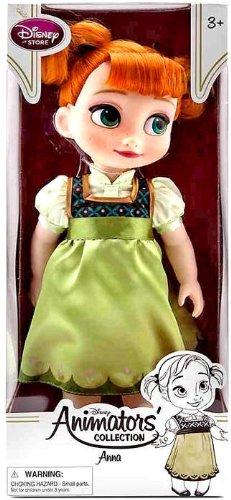 Disney USディズニー公式アナと雪の女王 Frozen フローズン アナ Anna 子供の頃のアナ 人形 ドール フィ