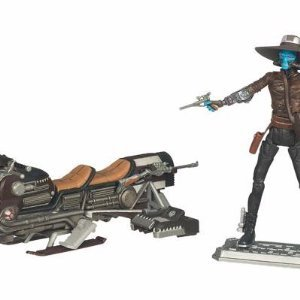 Star Wars The Clone Wars Pirate Speeder Bike with Cad Bane 『スターウォーズ』ニッカドベインとクロ