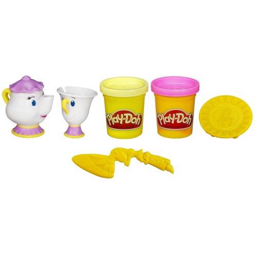 ディズニープリンセス Play-Doh(プレイドー) ベルのティーパーティー7386【美女と野獣 おもちゃ 粘土