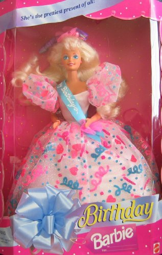 Birthday Barbie バービー Doll She's The Prettiest Present of All! (1994) 人形 ドール