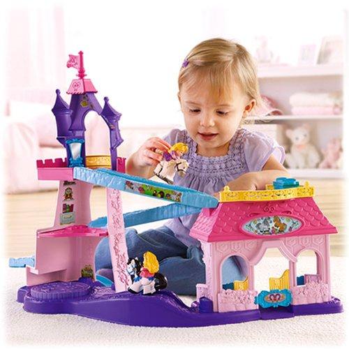 Fisher-Price Little People Disney Princess Klip Klop Stable