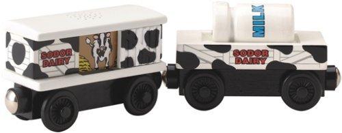 ラーニングカーブ きかんしゃトーマス 木製レール 牧場貨車 99037