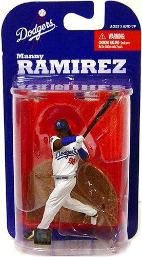 マクファーレン MLB 3インチ フィギュア シリーズ7 マニー・ラミレス/ロサンゼルス・ドジャース