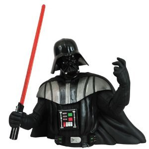 Star Wars: Darth Vader Rotocast Bust Bank