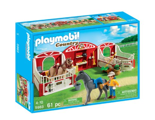 Playmobil(プレイモービル) Country Pony Stable ポニー 小屋 5983