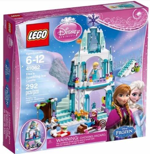 レゴ ディズニープリンセス エルサのきらめく氷のお城 41062