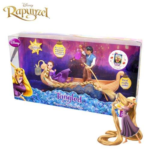 [ディズニー]Disney Tangled Rapunzel Boat Ride/ディズニー 塔の上のラプンツェル ボートライド お人形