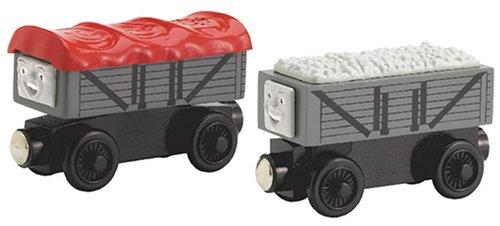 ラーニングカーブ きかんしゃトーマス 木製レールシリーズ 笑ういたずら貨車・いじわる貨車 FC-47340