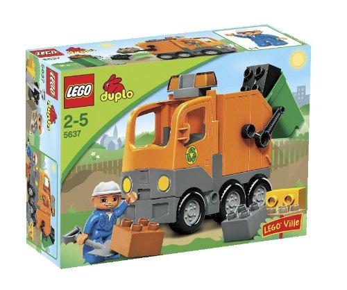 LEGO 5637 Garbage Truck (レゴ デュプロ ゴミ収集車)