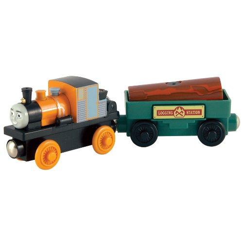 ラーニングカーブ 木製きかんしゃトーマスレールシリーズ 木製きかんしゃ「トーマスとジョビの木」