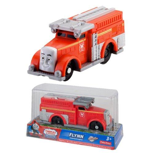 (日本未発売)TRACK MASTER きかんしゃトーマスとなかまたち 特殊消防車フリン1両 FLYNN (Y1995) プラレー