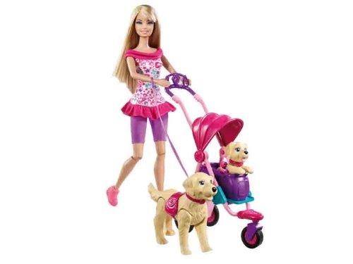 Barbie 子犬とお散歩 Playset