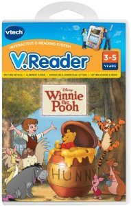 VTech - V.Reader Software - Winnie The Pooh おもちゃ