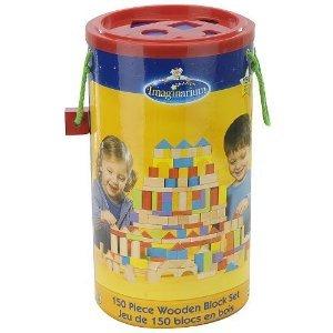 Imaginarium 150 ピース 木製 Block セット