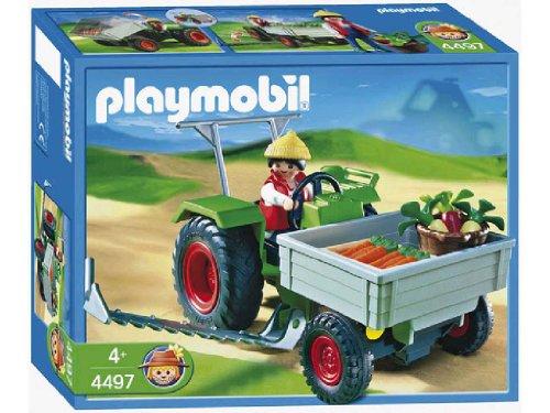 プレイモービル のりもの 農家のトラクター 4497