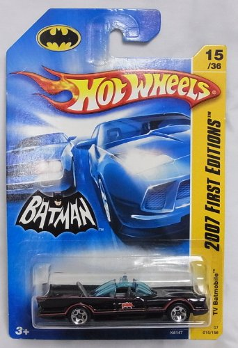 Hot Wheels BATMAN 2007 FIRST EDITONS TV Batmobile