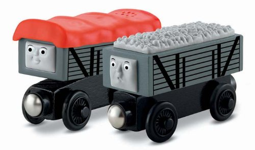きかんしゃトーマス 木製レール 笑ういたずら貨車といじわる貨車 Y4421