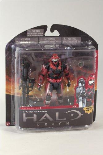 マクファーレントイズ ヘイロー・リーチ(HALO REACH)/シリーズ6 Spartan Recon (Team Red) - Walmart/T
