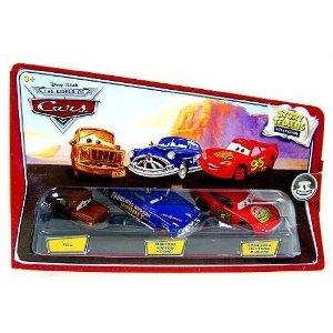 ディズニー / Pixar CARS ムービー 1:55 Die Cast Story Tellers コレクション 3-Pack Fred, ファービュ
