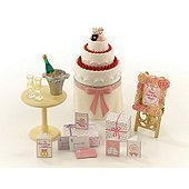 Sylvanian Families Wedding Cake And Accessories フィギュア おもちゃ 人形