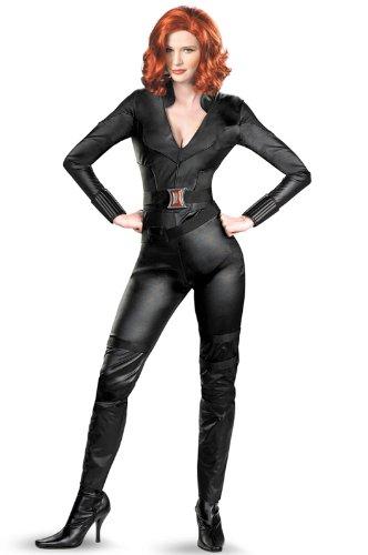 アベンジャーズ Marvel Avengers Movie Black Widow Deluxe 大人用コスチューム/ハロウィン/コスプレ/衣