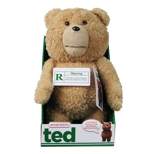 Ted 16-Inch Talking Plush Teddy Bear with Moving Mouth テッド テディベア おしゃべりぬいぐるみ