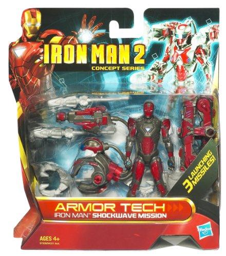 アイアンマン2/アーマーテック アクションフィギュア/アイアンマン ショックウェーブ ミッション