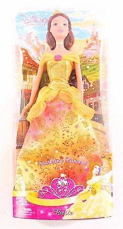 ディズニープリンセス キラキラドレスのプリンセスドール ベル