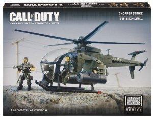 Mega Bloks (メガブロック) Call of Duty Chopper Strike ブロック おもちゃ
