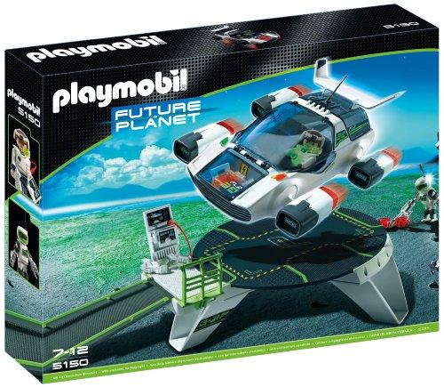 プレイモービル Future Planet 未来惑星 E-Rangers ターボジェットの発射台 5150