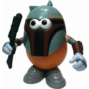 Star Wars Mr. Potato Head Spuda Fett, Boba Fett (Disney Exclusive)