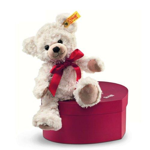 シュタイフ Steiff スイートハート テディベア クリーム (Sweetheart Teddy bear) 109904 「商品」