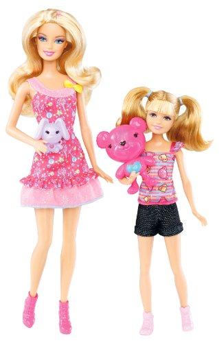 バービー4姉妹 遊園地で遊ぼう! バービーとステイシー (X9068)