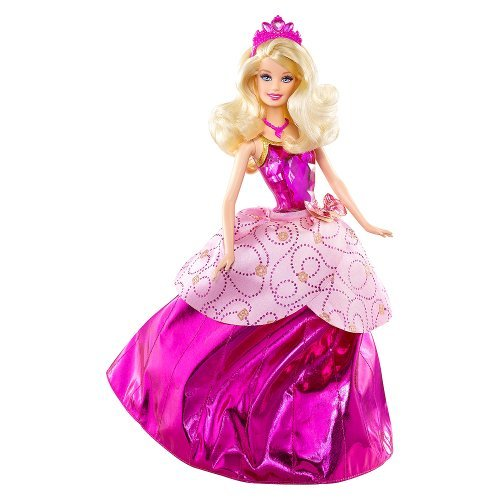 バービー プリンセス Barbie Princess Charm School Princess Blair Transforming Doll #V6827