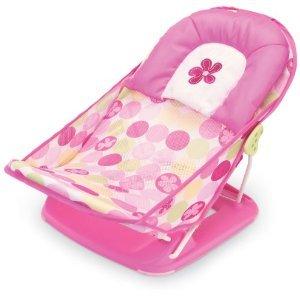 Deluxe Baby Bather - Pink - 赤ちゃんための安全バスチェア (お風呂チェア)