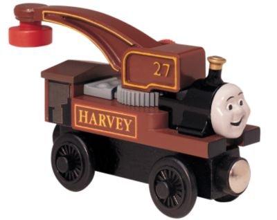 ラーニングカーブ きかんしゃトーマス 木製レール ハーヴィー 99175