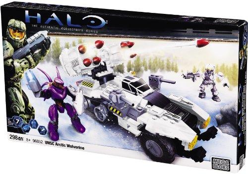 メガブロック ヘイロー UNSC 北極 ウルヴァリン MEGA BLOKS Halo UNSC Arctic Wolverine 96852