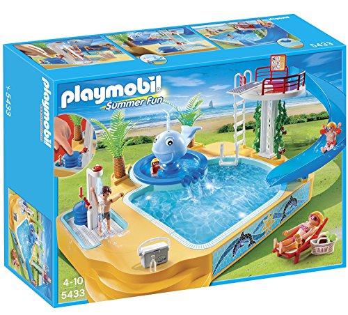 Playmobil プレイモービル 5433 サマーファン クジラ噴水のある 子供用 プール